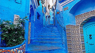 TRIP TO CHEFCHAOUEN FROM FES